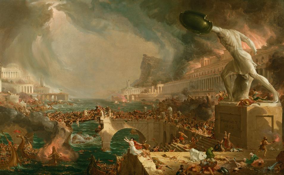 Thomas Cole's Course of Empire: Destruction