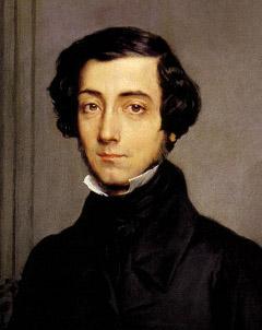 The Chopin look-alike Alexis de Tocqueville applied Greek wisdom to America itself...