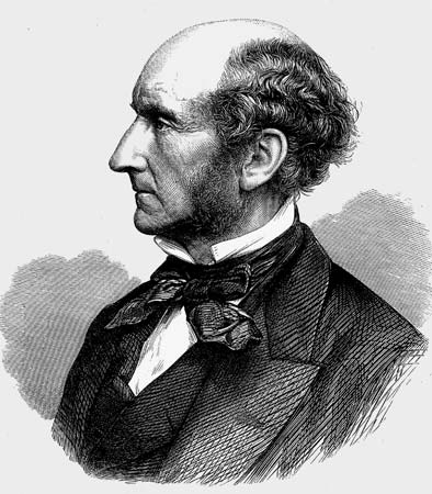 ...while John Stuart Mill, although not quite as handsome as his intellectual forbears, finally stressed the crucial idea in political philosophy of freedom of association.