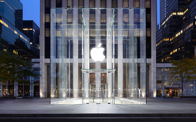 One corporation, Apple (here in its New York manifestation)