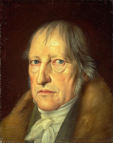 The great dialectician Hegel. He was wrong about some things, but right about a lot of things too.