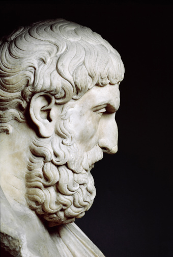 Epicurus, one of philosophy's more handsome gentlemen