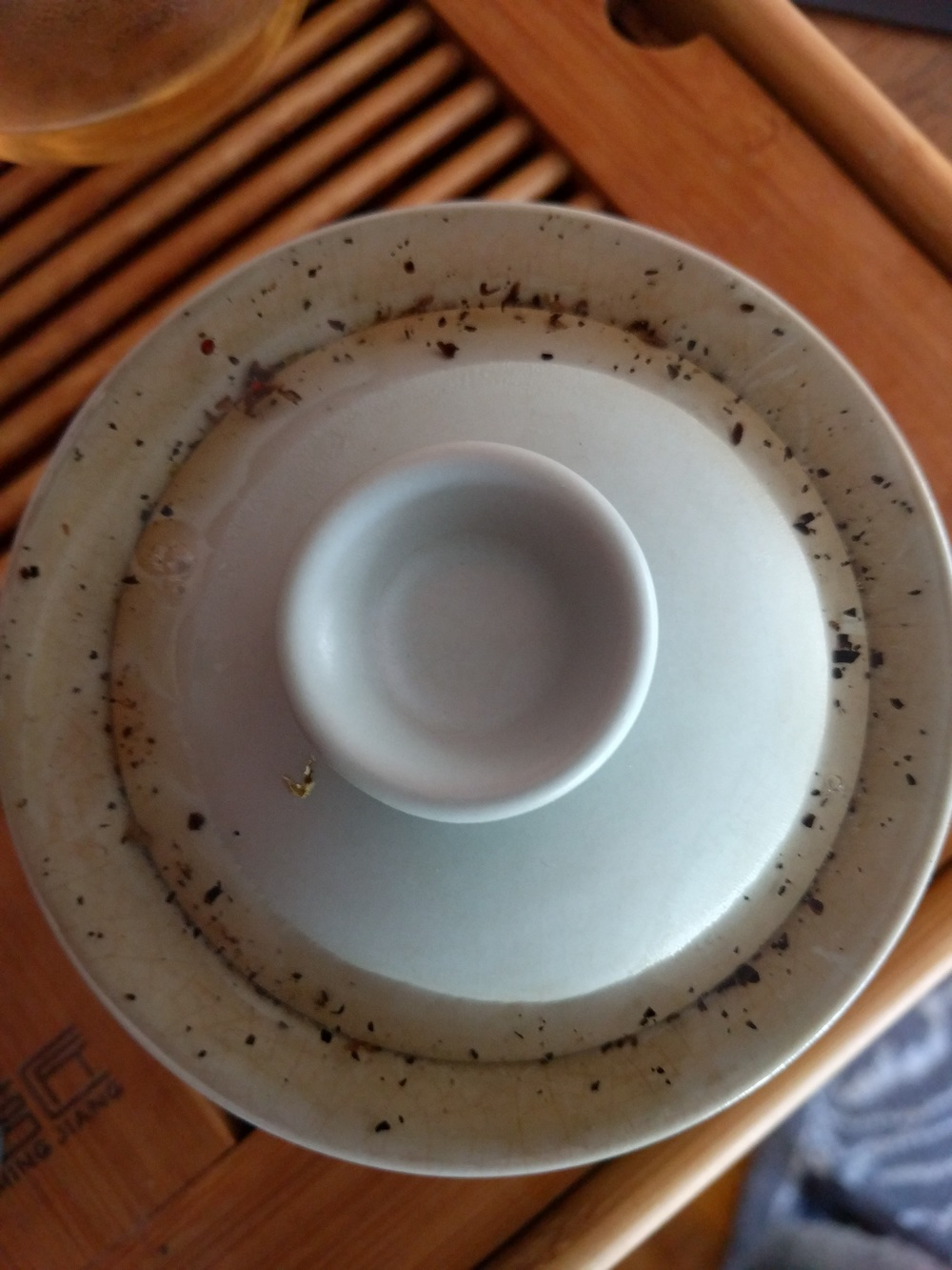 Even though I steeped this tea in a smaller sized gaiwan, this tea is quite hardy and can be brewed consistently and in a larger pot.