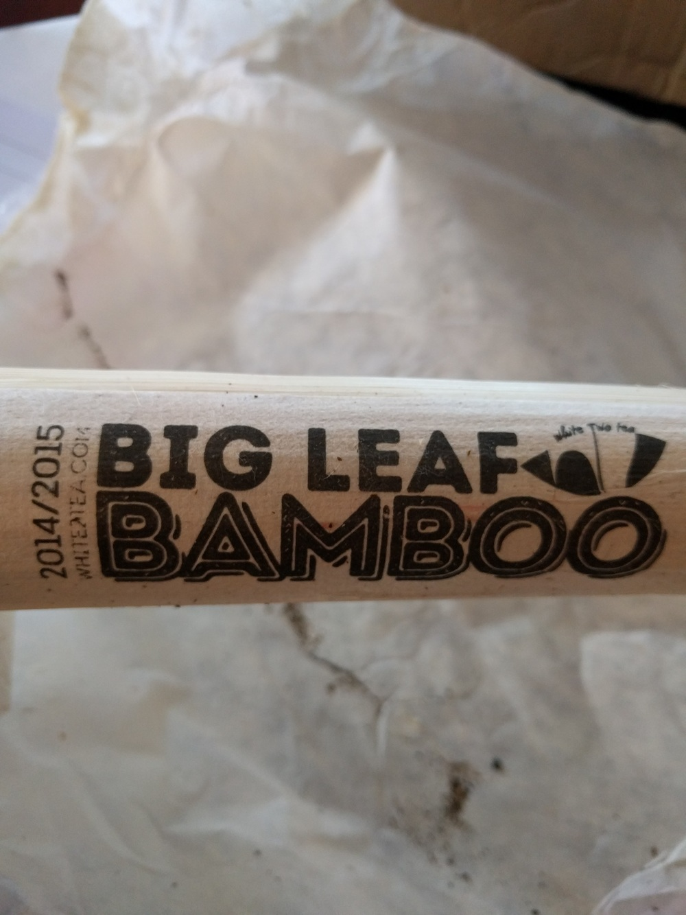 Big Leaf Bamboo, and it's nicer and more tame version  Midwest Nice , are both shaved and split bamboo sections. This packaging is great and is really fun to prepare for other people as something different.