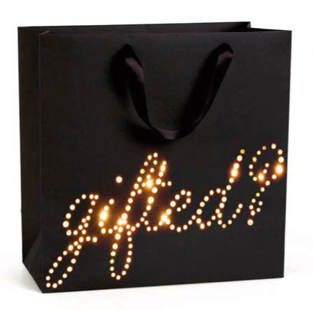 Our dazzling light up Gifted? bag