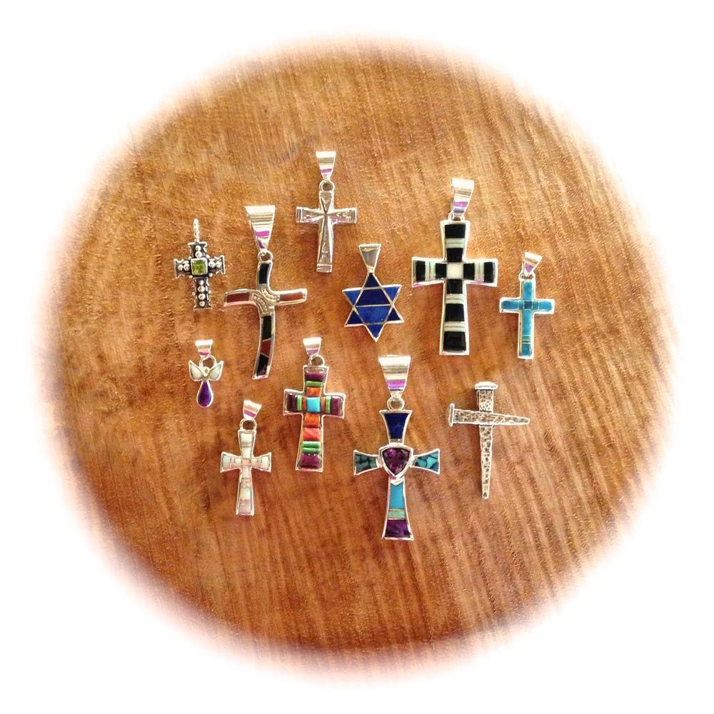Sampling of Crosses and Star of David