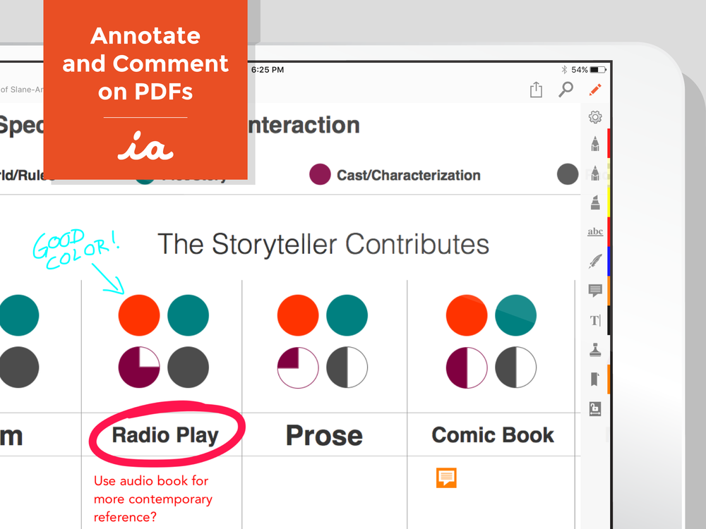 Annotate and Comment on PDFs