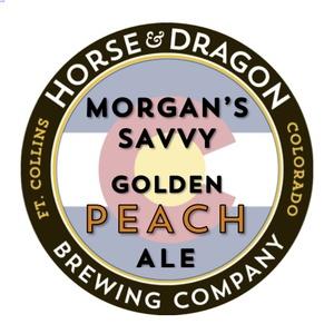 Horse & Dragon's Morgan's SavvyGolden Peach Ale