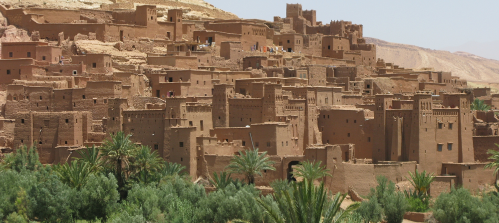 Ait Benhaddou on the edge of the Sahara