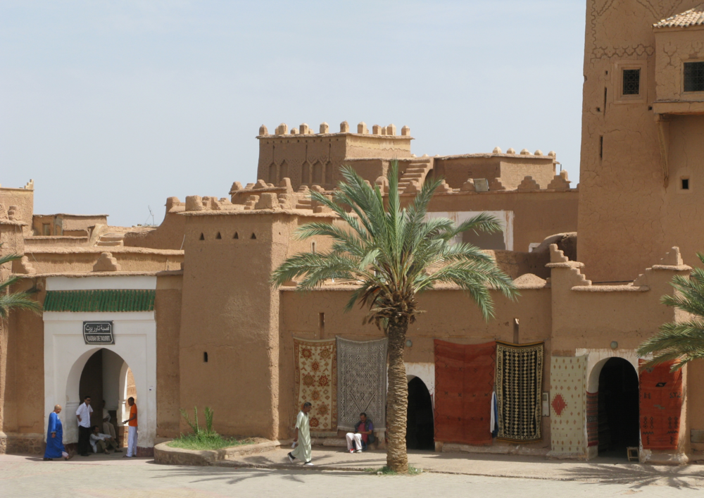 Ouarzazate  '{door to the Sahara)