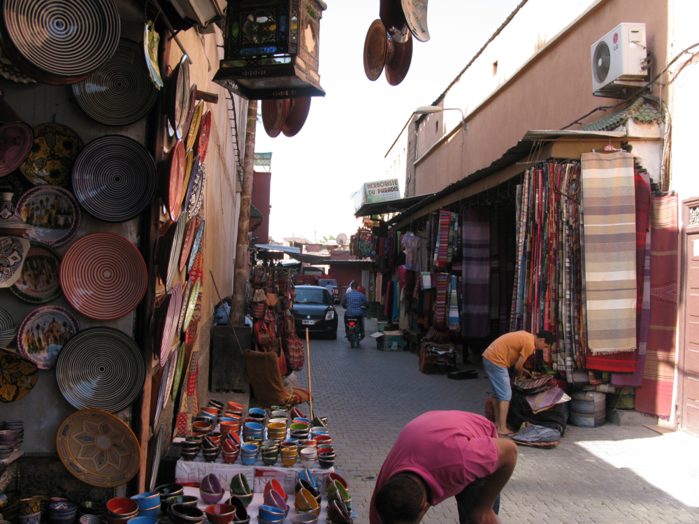 Another day in the Marrakech market