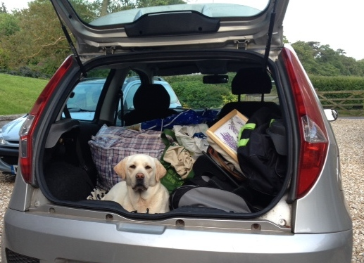 The little Fiat, The practice of Packing, and the obstacles.