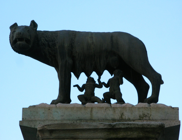 Romulus and Remus - founders of Rome