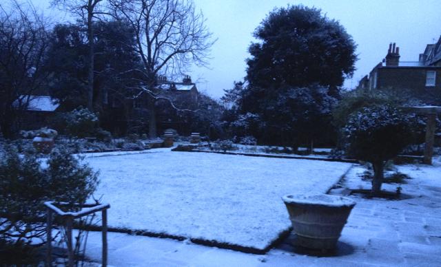 Winter in Fulham