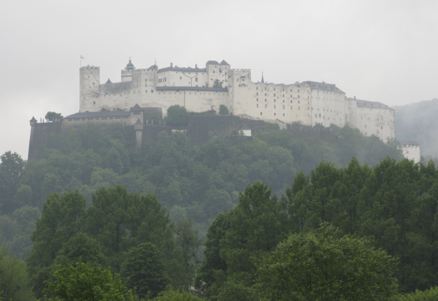 Last view of Salzburg as we departed