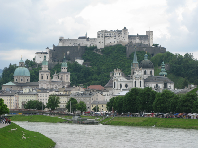 Best view of the city and Festung Hohensalzburg