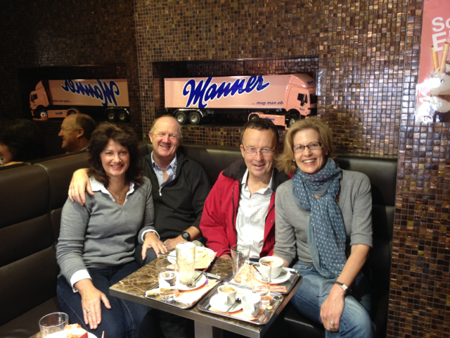 Great friends, great coffee, great service and delicious chocolate - who could ask for more
