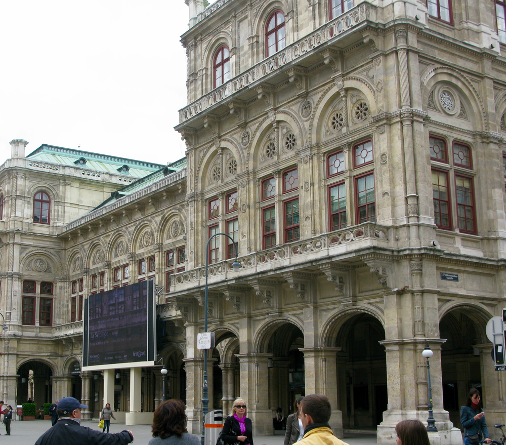 A corner of the huge Opera House