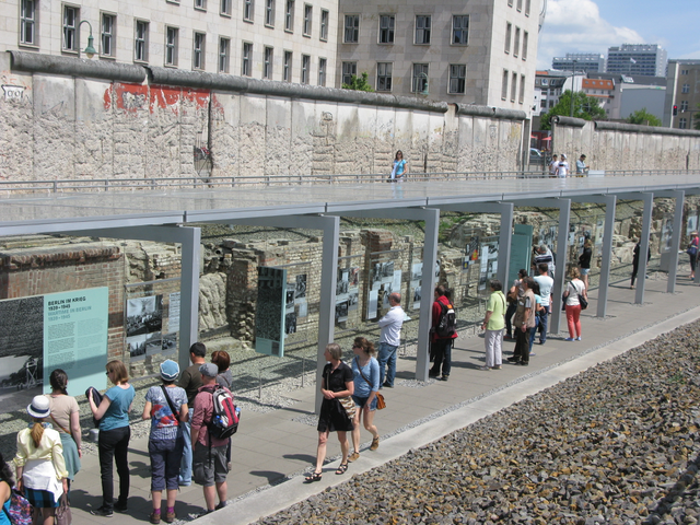 The Topography of Terror - an indoor, outdoor museum built on the site of the Gestapo and SS headquarters
