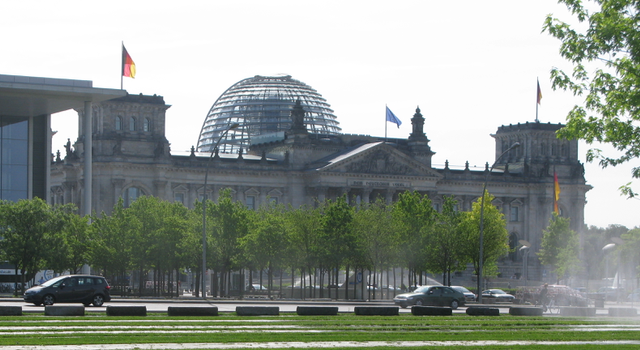 The Reichstag  - seat of the German Parliament