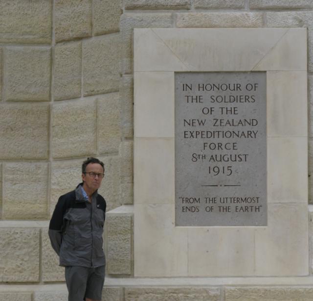 Chunuk Bair, the New Zealand Memorial