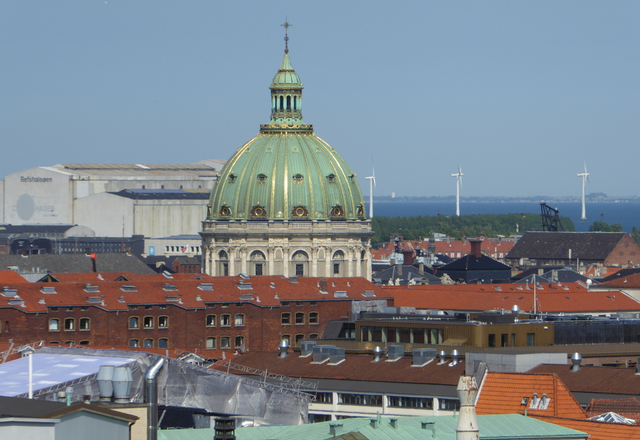 View from the top of the Round Tower