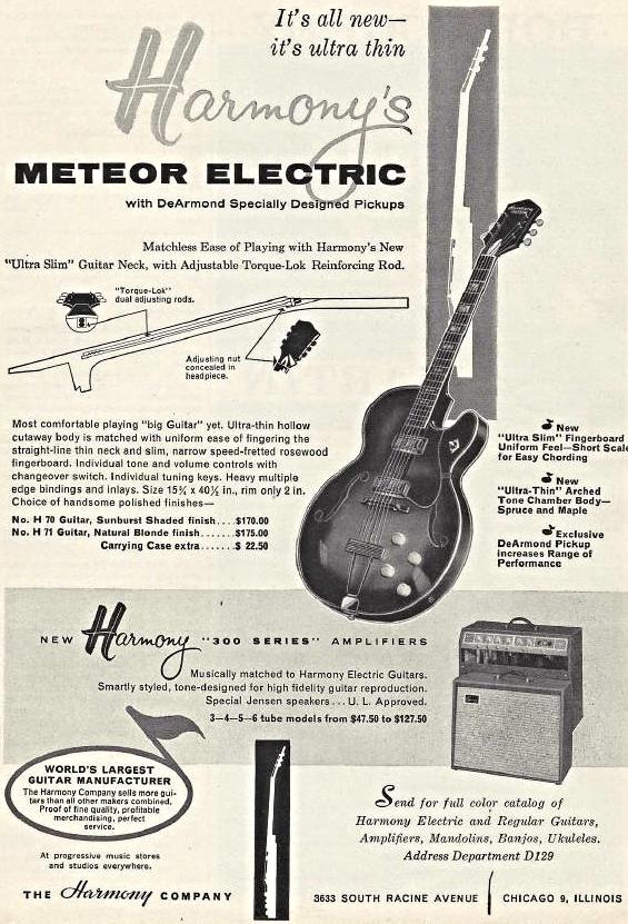 1962 Harmony Ad