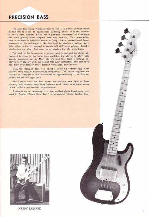 1957 Fender Catalog