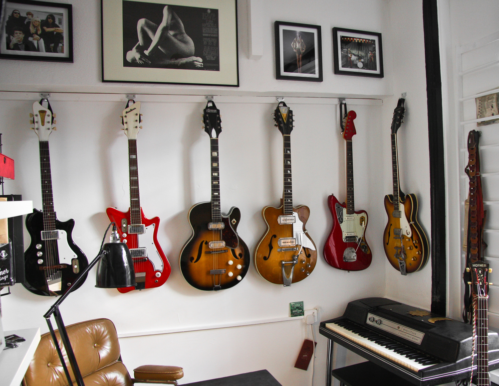 Guncotton Guitars Showroom