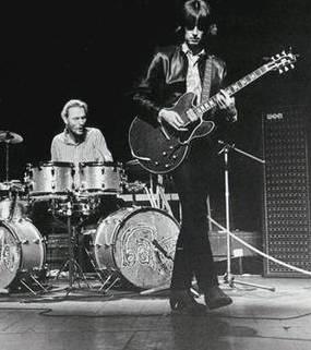 Cream live in 1968.