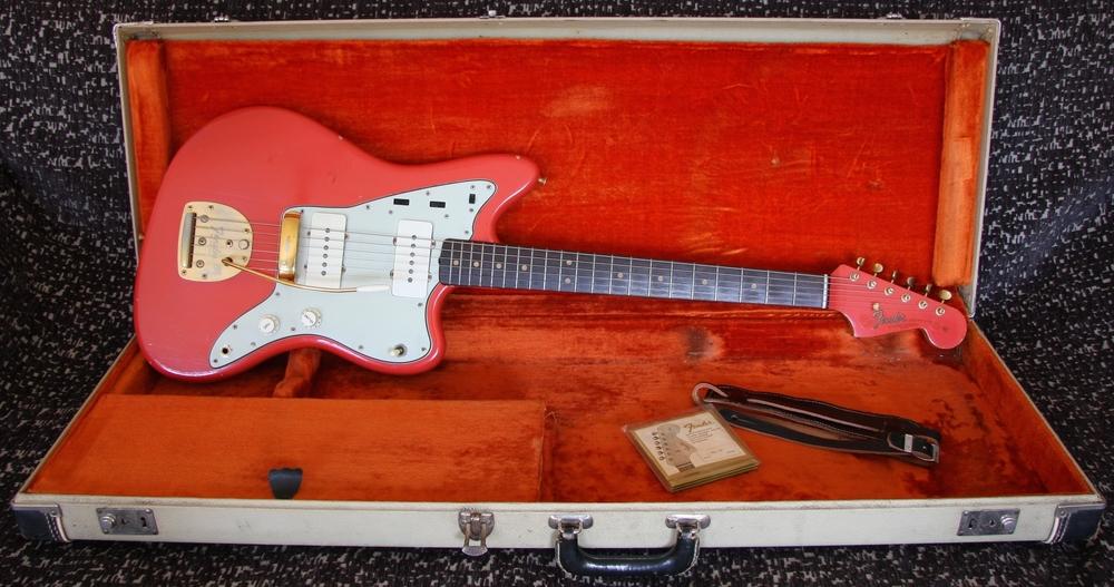 1964 Fender Jazzmaster Fiesta Red