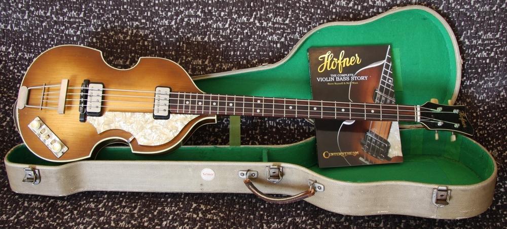 1963 Hofner Selmer Violin Bass
