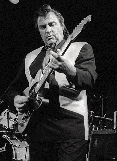 The great Danny Gatton with his trusted Telecaster.