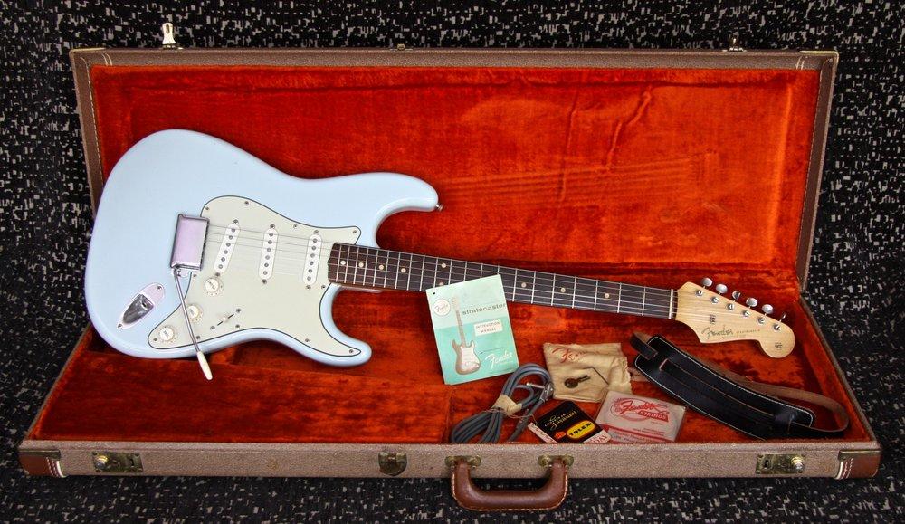 1962 Fender Stratocaster Sonic Blue