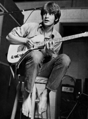 Alex Chilton with his Blonde Tele in the late 60s.