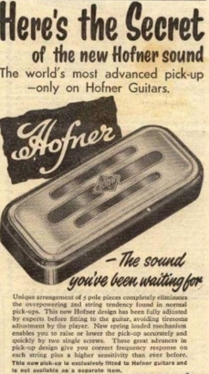 Hofner 1960 500/1