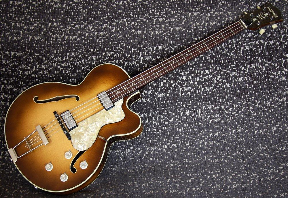 1965 Hofner 500/5 Bass