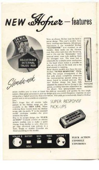 1960 Selmer Catalog