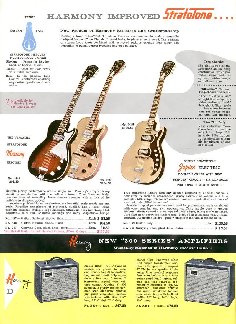 1959 Harmony Catalogue