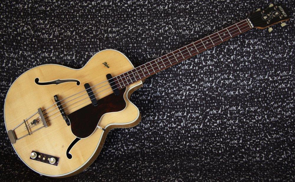 1959 Hofner 500/5 Bass