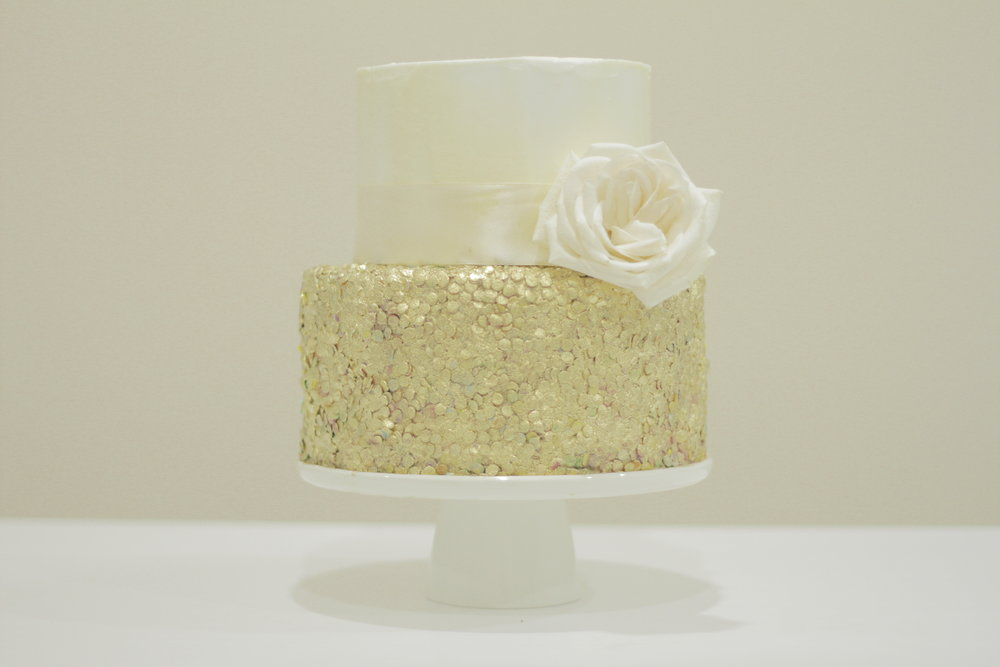 Gold Sequin Cake.JPG