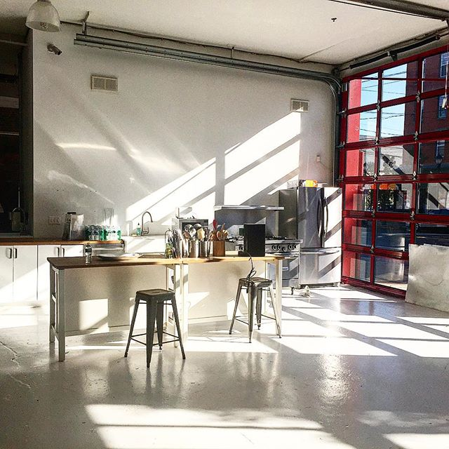 Firehouse East/ kitchen/Hudson River Studios  #morninglight #foodshoots #onsitechefservice