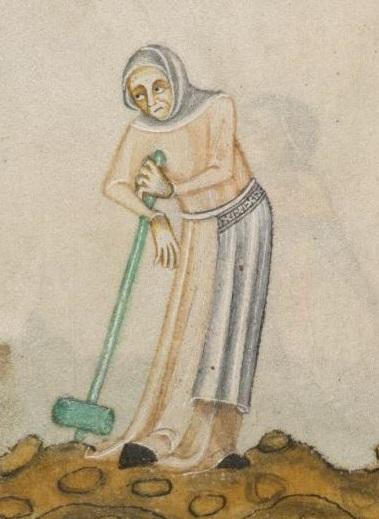 Luttrell Psalter, f171v
