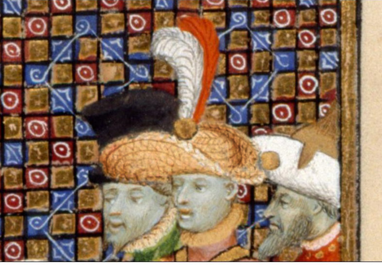 BL Harley 4431, f95v - Aristocratic straw hat