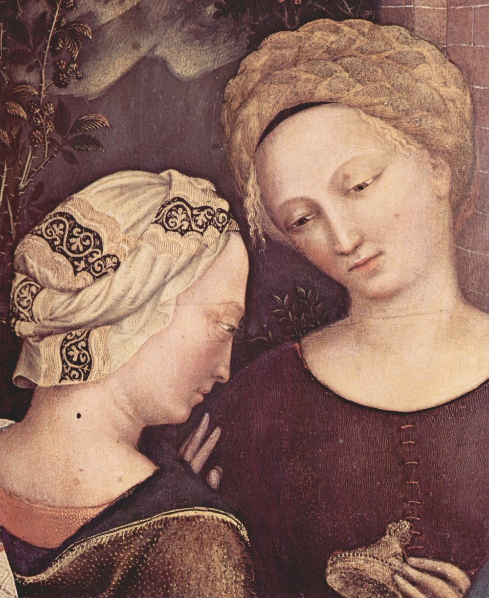 Gentile da Fabriano (Adoration of the Magi, 1423) - Fancy turban