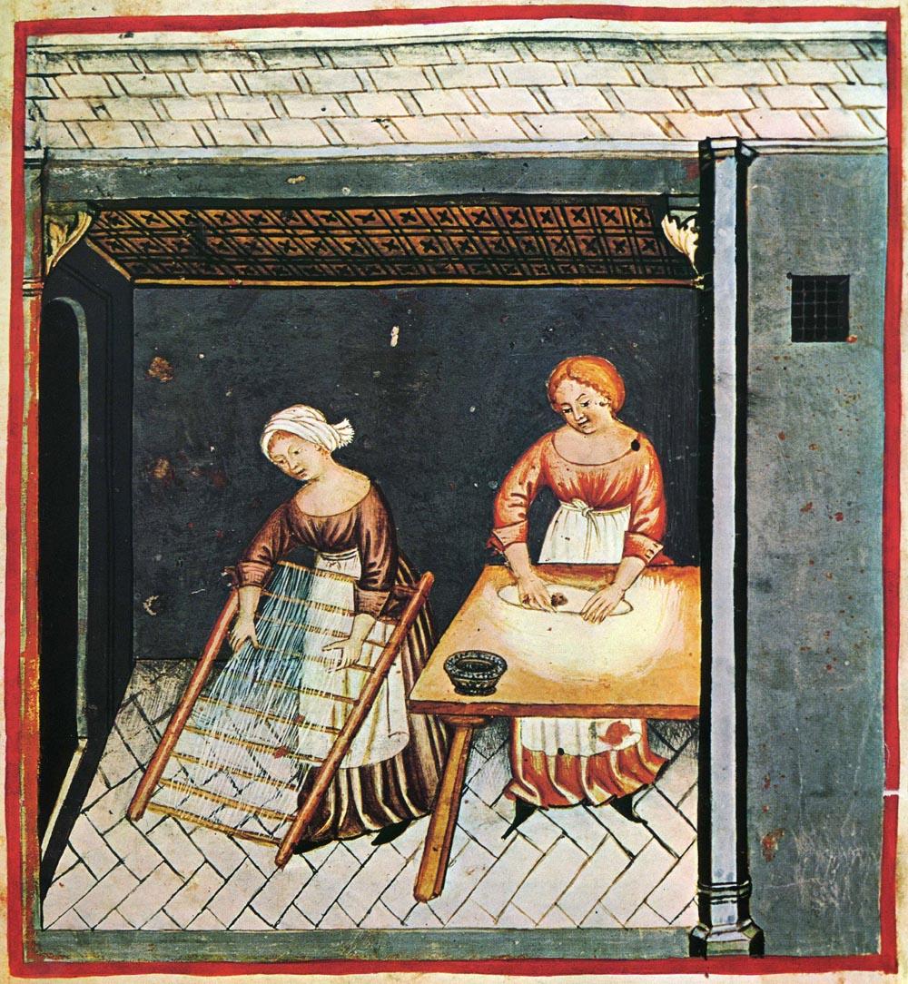 Tacuinum Sanitatis (Rome MS), f182r - Turban