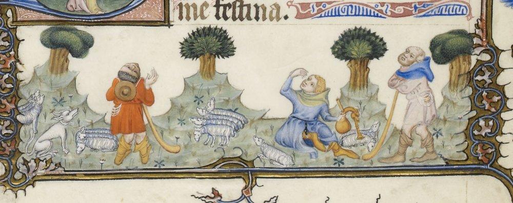 Tres belles heures de Notre Dame (BNF 3093), f41v