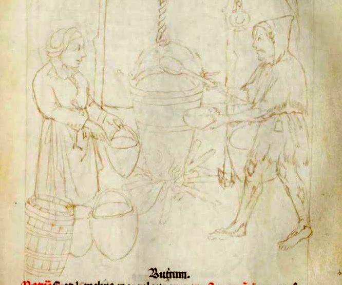 Tacuinum Sanitatis (Liege MS), f40v - Turban