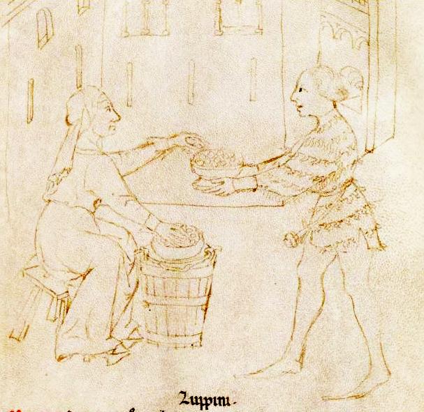 Tacuinum Sanitatis (Liege MS), f27r