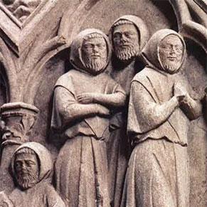 Frères convers (abbaye d'Aubazine, Corrèze, vers 1250)